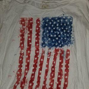 Ralph Lauren XL flag tshirt